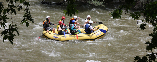 Rafting in Marsyangdi River