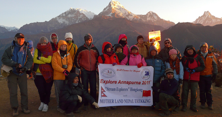 Annapurna trek with Stream Explore Hongkong